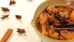 Sanook good stuff - พะโล้ปีกไก่ต้มโค้ก