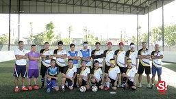 ร่วมเป็นกำลังใจฟุตบอลคนตาบอดทีมชาติไทย ลุยชิงแชมป์โลกที่สเปน