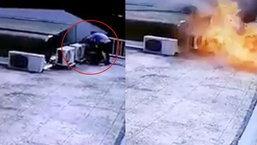 เตือนภัย! ช่างซ่อมเครื่องปรับอากาศผิดวิธี ระเบิดใส่ไม่รู้ตัว