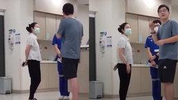 """สวยเก่งใจดี """"เกรซ มหาดำรงค์กุล"""" ช่วยเป็นล่ามภาษาจีนที่โรงพยาบาล"""