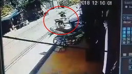 หนุ่มผวา! จักรยานยนต์ผีสิงวิ่งเองไม่มีคนขับ