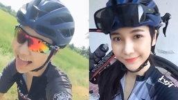 นักปั่นสายอาร์ต! น้องมิ้นท์ สาวเหนือสุดน่ารักวงการจักรยาน