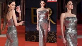 ชุดนี้สั่งตัดพิเศษ! ซูมทุกดีเทลสวย ที่ Angelina Jolie เลือกใส่ โปรโมท Eternals