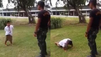 ลูกทหารผิด ต้องลงโทษแบบทหาร