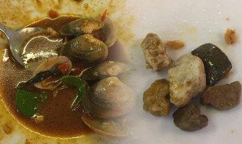 สั่งปิดแน่ ขายหอยผสมหินอีก ร้านอาหารยืนยันไม่ได้โกง