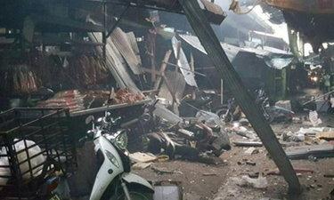 ปั่นป่วนเช้านี้ บอมบ์กลางตลาดเมืองยะลา 3 ศพ บาดเจ็บนับสิบ