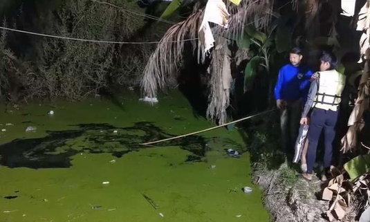 สลด! หนุ่มใหญ่หนีหนี้โดดจากหอพักชั้น 2 ซ่อนตัวในหนองน้ำเน่า สุดท้ายจมดับ