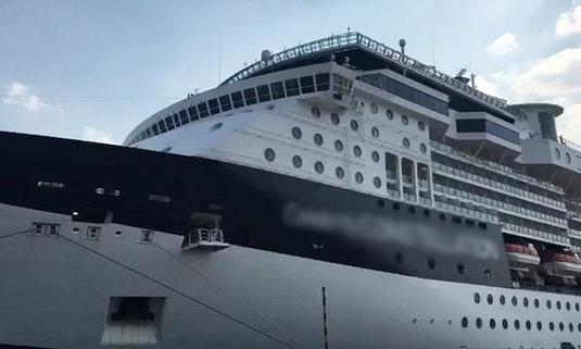 ฝรั่งช็อกดับคาเรือสำราญหรู ทริปสวีทหวานคู่เมีย...ปิดฉากด้วยความเศร้า