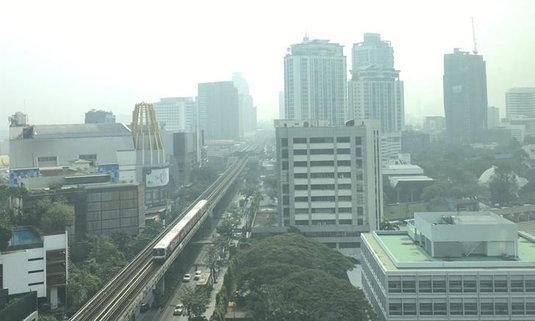 ค่าฝุ่น PM 2.5 กรุงเทพฯ พุ่ง! พบกระทบสุขภาพประชาชน 25 เขต
