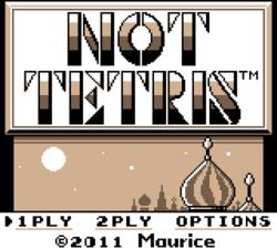 เมื่อ Tetris มีระบบฟิสิกส์ กลายเป็นเกมส์สุดแปลก Not Tetris 2!!