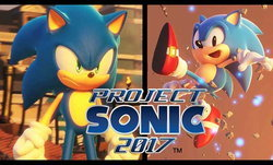 Sega เปิดตัวเกมใหม่ Sonic 2017 และ Sonic Mania สองภาคสองสไตล์