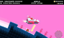 No Mario's Sky เกมล้อเลียนลูกผสม Mario กับ No Man's Sky