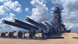 ญี่ปุ่นคืนชีพ เรือรบยักษ์ในเกม VR Battleship Yamato
