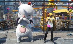 Final Fantasy XV เพิ่มสวนสนุก Moogle Chocobo Carnival