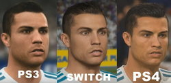 เทียบกันชัดๆกราฟิกเกม Fifa 18 บน PS4  Nintendo Switch และ PS3