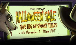 Steam ฉลองเทศกาลฮาโลวีน ลดเกมผีๆจุใจ 25-80%