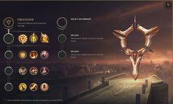 เจาะลึกระบบ Rune เกม League of Legends สาย Precision