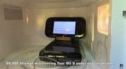 Kenny จอมไมโครเวฟจัดของใหม่ Wii U เข้าไมโครเวฟแล้ว