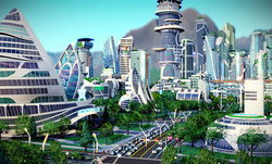 SimCity: Cities of the Future สร้างเมืองล้ำยุค
