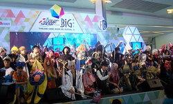 บรรยากาศคอสเพลย์และผล Thailand Game Award