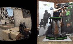 ลองมาดูการเล่น Counter Strike แบบสมจริงที่สุด