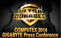 GIGABYTE เริ่มต้นเปิดตัวงาน Computex 2014 อย่างอลังการ