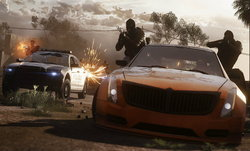 Battlefield Hardline โหมดใหม่ Hotwire ขับรถไล่ล่าคนร้าย