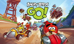 Angry Birds Go โว! ยอดดาวน์โหลดสูงกว่า Mario Kart ทุกภาครวมกัน