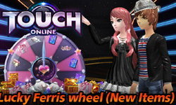 Touch Online Lucky Ferris wheel (New Items)