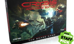 Crysis Analogue Edition เกมยิงชื่อดังกลายเป็นบอร์ดเกม