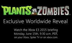 Plants vs. Zombies ภาคใหม่กำลังมา ในงาน E3 2015