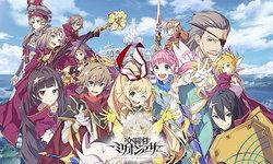 รีวิว Kou-kyou-Sei Million Arthur เกม ACT RPG อนิเมชั่นตัวล่าสุดจาก Square Enix