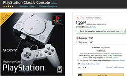 PlayStation Classic ราคาตกฮวบ หลังขายเพียงไม่นาน