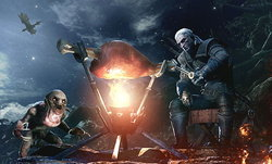 ลุงหงอก Geralt จาก The Witcher ร่วมวงล่ามอนใน Monster Hunter: World แล้ววันนี้