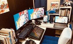 เหล่านักวาดการ์ตูนญี่ปุ่น แห่แชร์โต๊ะทำงาน จะรกแค่ไหนลองดู