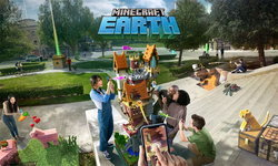 ลองเล่น ส่อง Gameplay Minecraft Earth BETA