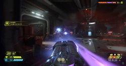 Doom Eternal จะมีตัวเลือกให้ผู้เล่นสามารถปรับอาวุธอยู่กลางหน้าจอได้ตั้งแต่เกมวางจำหน่าย