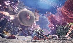 Monster Hunter World ปล่อยคลิปฉากใหม่ Coral Highlands สุดงาม