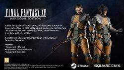เปิดชุดจากเกม Half-Life ในเกม Final Fantasy 15 เวอร์ชั่น PC