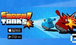 Smash Tanks สุดยอดเกมสงครามรถถัง ระบบ AR มีโหลดใน Android แล้ว