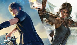 Final Fantasy 15 เตรียมพบกับสาว Lara Croft จาก Tomb Raider