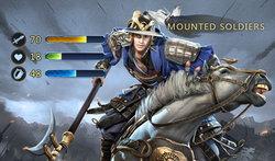 ตำราพิชัยสงคราม Kingdom Craft แนะนำพลม้าประชิดและพลธนูขี่ม้า