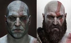 ไว้หนวดดีกว่า! ลองดูภาพ Kratos ตอนโกนหนวด หลอนสุดๆ