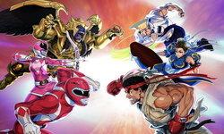 Power Rangers ปะทะกับ Street Fighter ในเกม Power Rangers Legacy Wars