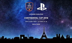 PlayStation จัดงาน Continental Cup 2018 ณ Paris Games Week