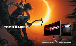 MSI จัดให้ เพียงซื้อเกมมิ่งมอนิเตอร์รุ่นที่ร่วมรายการรับฟรีทันที Shadow of the Tomb Raider