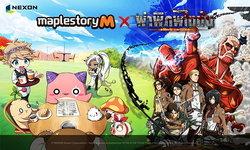 Maple Story M จัดกิจกรรมคอลแลปส์ Attack On Titan ถึง 25 พ.ย. นี้