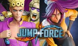 Jump Force เผย 2 ตัวละครจาก DLC ใหม่ ชิโฮอิน โยรุอิจิ และโจรูโน โจบานา