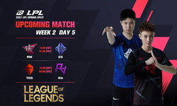สรุปผลการแข่งขัน LOL LPL 2021 Spring Season Week 2 Day 5