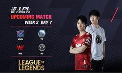 สรุปผลการแข่งขัน LOL LPL 2021 Spring Season Week 2 Day 6-7